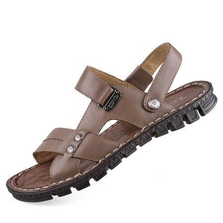 Zero/零度 男士休闲凉鞋 沙滩鞋 户外凉拖 8517