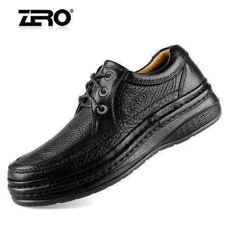ZERO意大利零度优质头层牛皮高端商务男鞋商务休闲男士皮鞋 93053