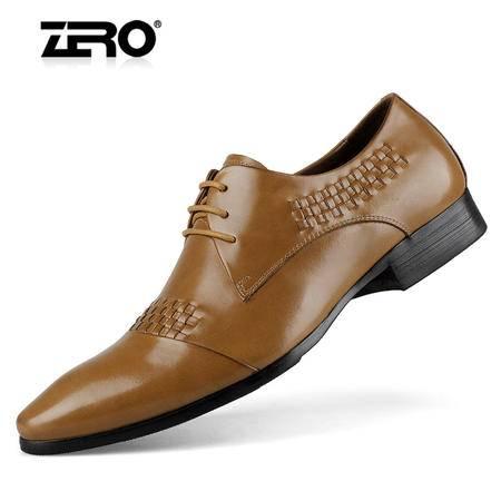 ZERO意大利零度高端意式正装商务皮鞋优质牛皮男鞋 93033