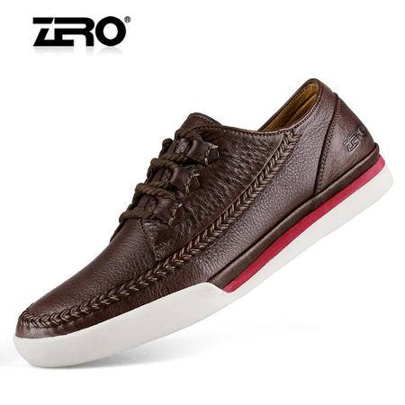 Zero/零度 男士 头层牛皮 商务休闲皮鞋 96026