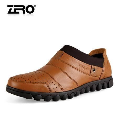 Zero/零度 男士 头层牛皮 商务休闲皮鞋 99273