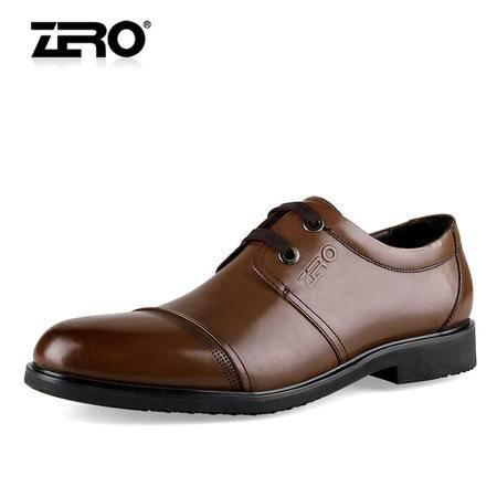 Zero/零度 男士 头层牛皮 商务正装皮鞋 99610