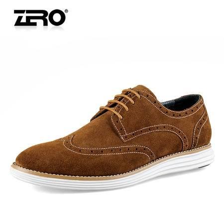 Zero/零度 男士 头层牛皮 时尚休闲皮鞋 99623