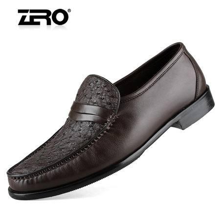 Zero/零度 男士 头层牛皮 商务休闲皮鞋 96037