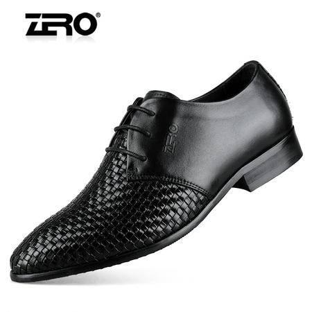 Zero/零度 男士 头层牛皮 商务休闲皮鞋 99272