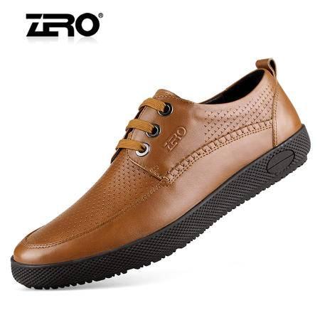 Zero/零度 男士 头层牛皮 商务休闲皮鞋 99637