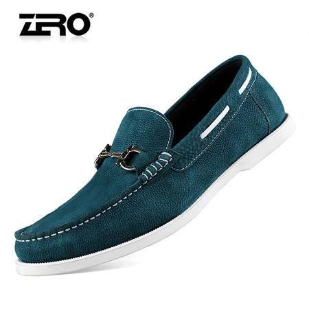 Zero/零度 男士 头层牛皮 商务休闲皮鞋 99625