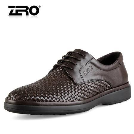 Zero/零度 男士 头层牛皮 商务休闲皮鞋 99621