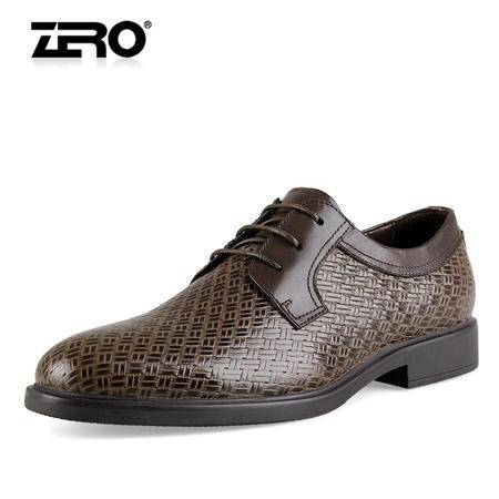Zero/零度 男士 头层牛皮 商务正装皮鞋 99771