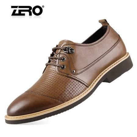 Zero/零度 男士 头层牛皮 时尚休闲皮鞋 99779