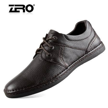 Zero/零度 男士 头层牛皮 超软舒适男士休闲皮鞋 99661