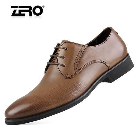 Zero/零度 男士 头层牛皮 商务正装皮鞋 真皮 低帮鞋 99881