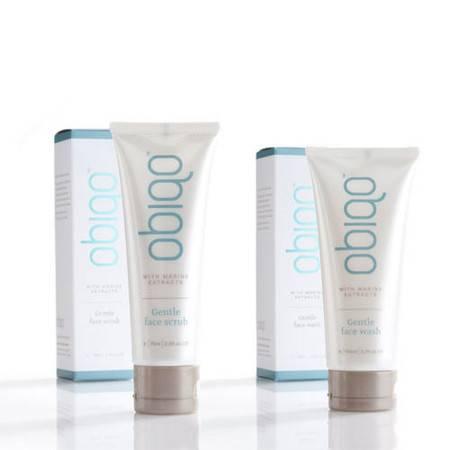 Obiqo轻柔洁面磨砂+Obiqo轻柔洁面乳 套装