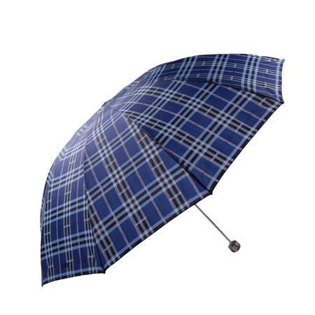 天堂伞 加大商务伞三折 高密拒水 遮阳 晴雨伞 300T, piange