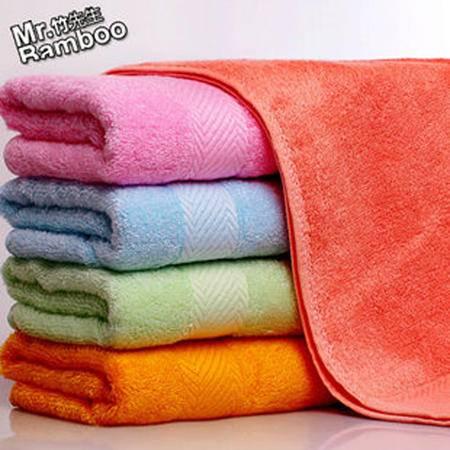 竹先生竹纤维缎档毛巾 95g
