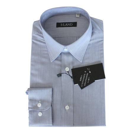 星澜家纺男士竹纤维修身商务休闲长袖衬衣