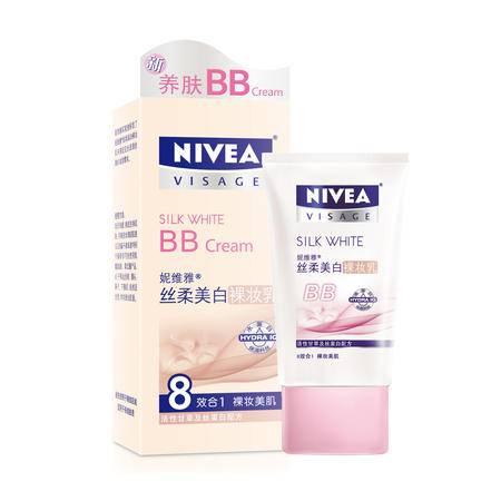妮维雅丝柔美白裸妆乳 BB霜 40g