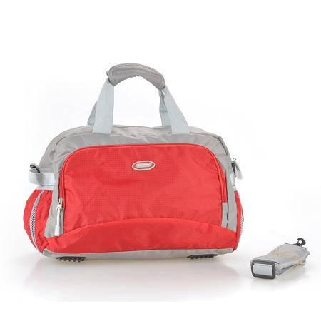 《河北电商》GRACEFUL格瑞斯 休闲运动旅行包手提包可单肩斜跨11038