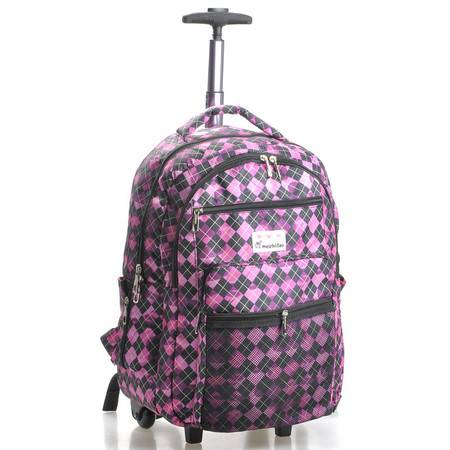 美之岛 韩版短途旅行时尚拉杆大容量手提行李包 20寸02005