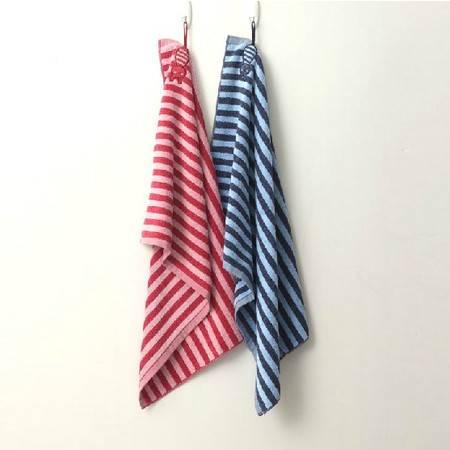 孚日洁玉 长尾兔毛巾 纯棉柔软可爱条纹长尾兔毛巾 JY-9015T