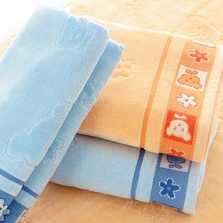 孚日-洁玉枕巾正品 纯棉提缎割绒枕巾 加厚 情侣枕巾卡通儿童枕巾