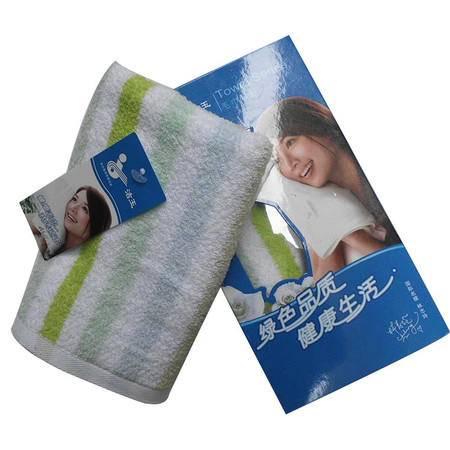 孚日洁玉巴黎春天纯棉毛巾单条装礼盒JY-1020FLHH