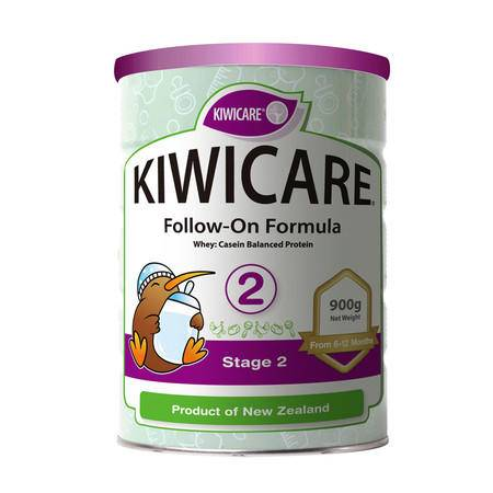 KIWICARE纽爱多婴儿奶粉2段 X 4