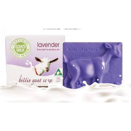 Billie Goat Lovender Soap 比利山羊奶薰衣草手工皂 100g X 5