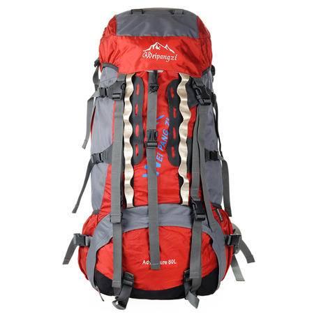 魏胖子 大容量80L专业户外登山包旅游包远途背包  2779