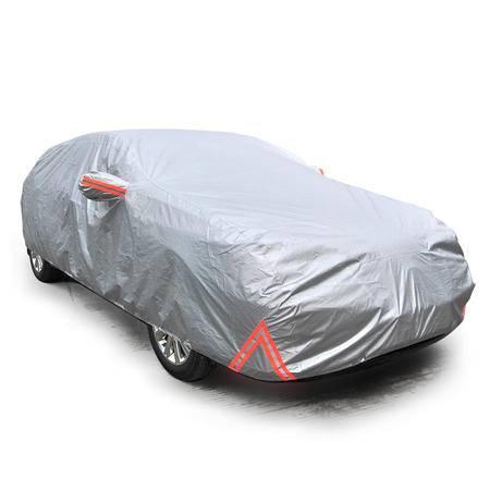 安美弛 汽车车衣 纳米复合面料防尘罩 遮阳车罩两厢中号AM-2180