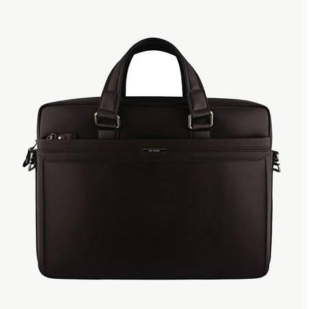 伯特菲尼 PT.FINI 男士公文包 商务手提包挎包 PT6167-5(咖啡色)