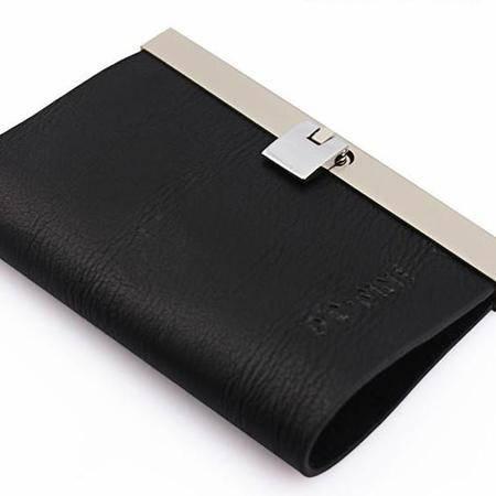 伯特菲尼 PT.FINI 2012新款金属包边 男士钥匙包 PT1010-Q012(黑色)
