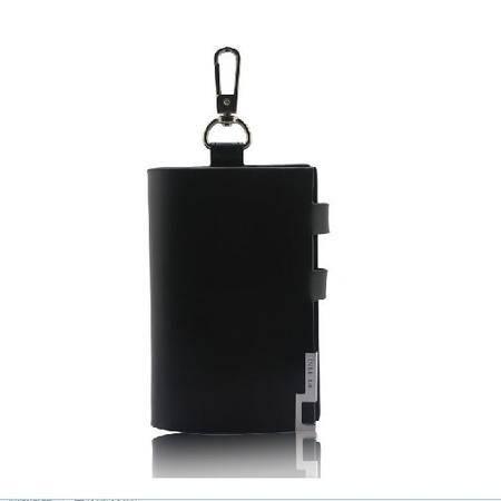 伯特菲尼 PT.FINI 2012新款金属包边男士钥匙包 PT-F065黑色