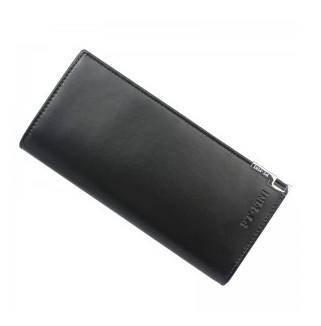 伯特菲尼 PT.FINI 2012新款金属包边男士钱包 竖款 PT009-3黑色