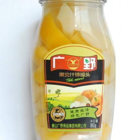 【河北特产】广野什锦罐头860g×12