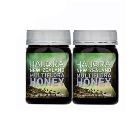 纽天然(Hauora)多种花蜂蜜 500g 2罐