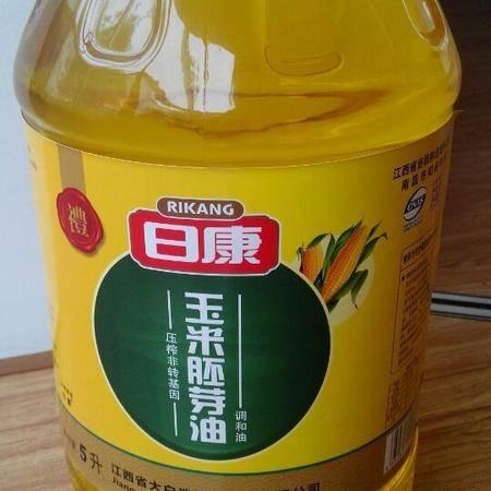 日康玉米胚芽调和油5L