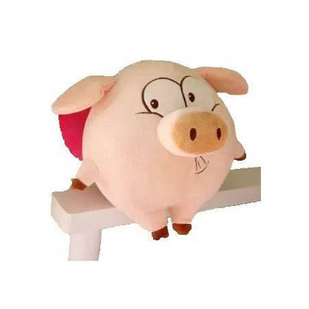 Iloop天使可爱猪飞天猪毛绒玩具女生节日礼物娃娃55cm