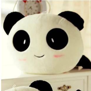 ILOOP新款趴趴熊猫毛绒公仔多功能靠枕生日礼物情人节礼80cm