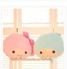 iloop新品创意毛绒玩具十二星座双子星抱枕 坐垫 靠枕生日礼物