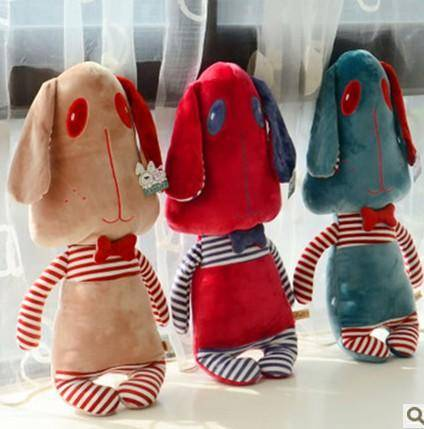 iloop多诺可爱卡通狗狗玩偶星际狗公仔抱枕毛绒玩具创意生日礼品送女友