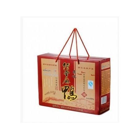 五莲星缙云麻鸭卤味900g/盒