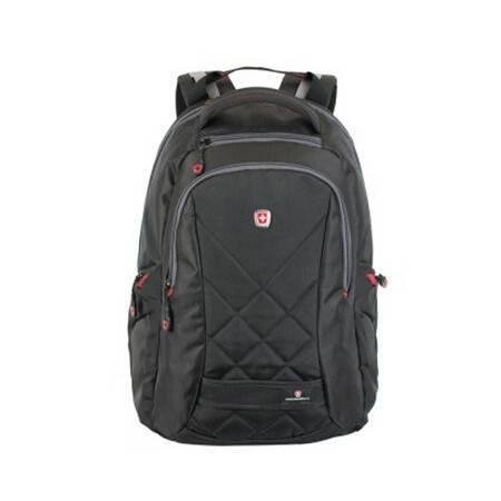 瑞士瑞动 (SWISSMOBILITY) 多功能双肩背包MT-5839-02T00黑色