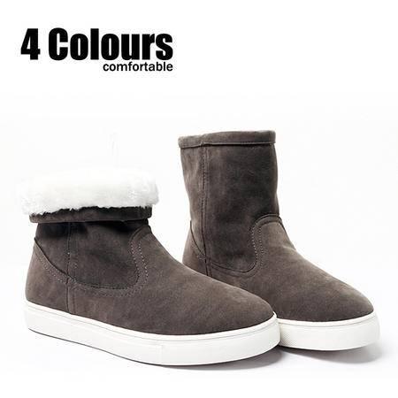 MR.benyou男士雪地靴 男靴军靴韩版棉鞋休闲高帮靴短靴 靴子308鞋-B15-P100