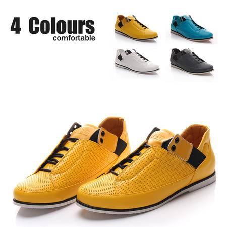 MR.benyou新款韩版男鞋休闲鞋日常休闲时尚潮流透气板鞋 308鞋-B20-P60
