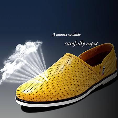 MR.benyou新款潮流男鞋时尚韩版男士一脚蹬透气休闲鞋308鞋-T118