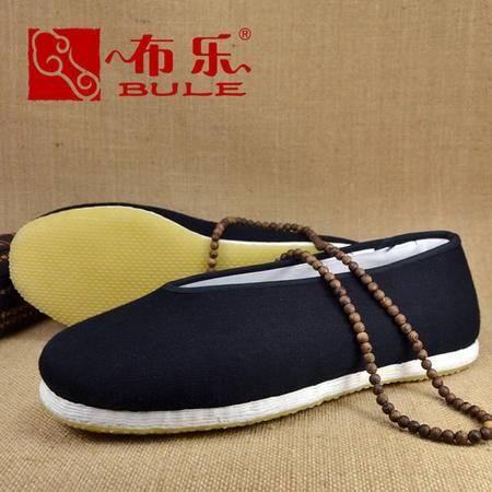 【河北特产】布乐 男士圆口 纯手工布鞋 男款 牛筋底布鞋 办公休闲开车男鞋