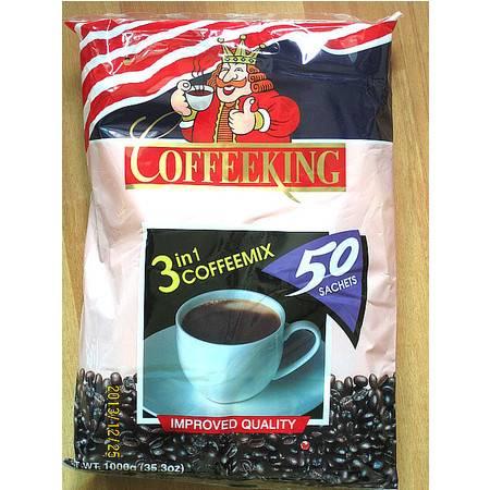 国王咖啡新加坡进口咖啡COFFEEKING新加坡咖啡三合一(1公斤)