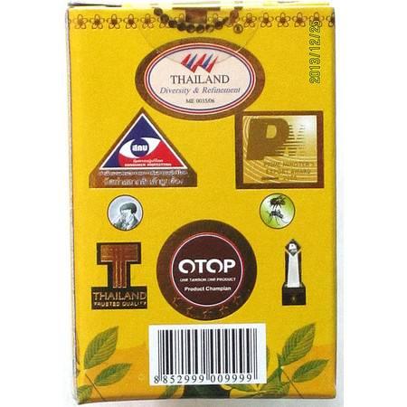 泰国金冠斯油金十字古方草药黄油偏头痛牙痛周身痛必备万能油3ML