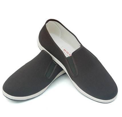 【河北特产】佰特部落 厂家直销批发 卡丹面料布鞋 轮胎底白跟男款军单 时尚休闲